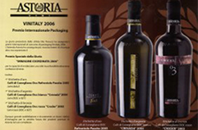 Premio Packaging Vinitaly 2006